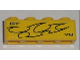 Part No: 3010pb115L  Name: Brick 1 x 4 with 'GT V8' and Flames Pattern Model Left (Sticker) - Set 8196