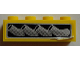 Part No: 3010pb180R  Name: Brick 1 x 4 with Vehicle Exhaust Pipes Pattern Model Right Side (Sticker) - Set 8166