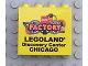 Part No: 30144pb038  Name: Brick 2 x 4 x 3 with Legoland Discovery Center Chicago Pattern