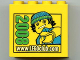 Part No: 30144pb052  Name: Brick 2 x 4 x 3 with www.LEGOclub.com 2008 and Max Pattern