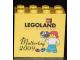 Part No: 30144pb056  Name: Brick 2 x 4 x 3 with Legoland Deutschland Muttertag 2009 Pattern