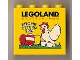Part No: 30144pb075  Name: Brick 2 x 4 x 3 with Legoland Deutschland FROHE OSTERN 2010 Pattern