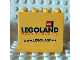 Part No: 30144pb076  Name: Brick 2 x 4 x 3 with Legoland Deutschland www.LEGOLAND.de Pattern