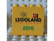 Part No: 30144pb077  Name: Brick 2 x 4 x 3 with Legoland Feriendorf 2010 Pattern