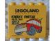 Part No: 30144pb081  Name: Brick 2 x 4 x 3 with Legoland Deutschland Verrückte Fahrzeuge 14.-16. Mai 2010 Pattern