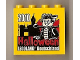 Part No: 30144pb090  Name: Brick 2 x 4 x 3 with Legoland Deutschland Halloween 2010 Pattern