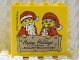 Part No: 30144pb104  Name: Brick 2 x 4 x 3 with Happy Holidays from the Legoland Discovery Center Pattern