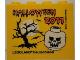 Part No: 30144pb111  Name: Brick 2 x 4 x 3 with Legoland Deutschland Halloween 2011 and Skull Pattern
