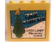 Part No: 30144pb114  Name: Brick 2 x 4 x 3 with Legoland Discovery Centre Frohe Weihnachten and Christmas Tree Pattern