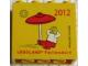 Part No: 30144pb119  Name: Brick 2 x 4 x 3 with Legoland Feriendorf 2012 Pattern