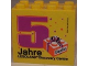 Part No: 30144pb120  Name: Brick 2 x 4 x 3 with Legoland Discovery Centre Berlin 5 Jahre Pattern