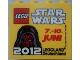 Part No: 30144pb123  Name: Brick 2 x 4 x 3 with Legoland Deutschland Star Wars 07. - 10. Juni 2012 Pattern