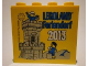 Part No: 30144pb137  Name: Brick 2 x 4 x 3 with Legoland Feriendorf 2013 Castle Pattern