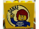 Part No: 30144pb142  Name: Brick 2 x 4 x 3 with Legoland Deutschland Resort DANKE Pattern