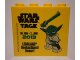 Part No: 30144pb144  Name: Brick 2 x 4 x 3 with Legoland Deutschland Resort Star Wars Tage 30. Mai - 2. Juni 2013 Pattern