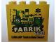 Part No: 30144pb147  Name: Brick 2 x 4 x 3 with Legoland Deutschland Resort Fabrik 2014 Pattern