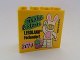 Part No: 30144pb150  Name: Brick 2 x 4 x 3 with Legoland Feriendorf 2014 Frohe Ostern Pattern