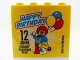 Part No: 30144pb151  Name: Brick 2 x 4 x 3 with Happy Birthday 12 Jahre Legoland Deutschland Resort Pattern