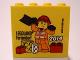 Part No: 30144pb152  Name: Brick 2 x 4 x 3 with Legoland Feriendorf 2014 Construction Worker Pattern