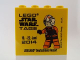 Part No: 30144pb154  Name: Brick 2 x 4 x 3 with Legoland Deutschland Resort Star Wars Tage 19. - 22. Juni 2014 Pattern