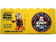 Part No: 30144pb154b  Name: Brick 2 x 4 x 3 with Legoland Deutschland Resort Star Wars Tage 19. - 22. Juni 2014, 501st Legion Logo on Reverse Pattern