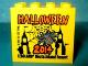 Part No: 30144pb158  Name: Brick 2 x 4 x 3 with Legoland Deutschland Resort Halloween 2014 Spider Pattern