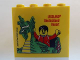 Part No: 30144pb159  Name: Brick 2 x 4 x 3 with Dragon and Legoland Deutschland Resort Pattern