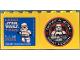 Part No: 30144pb170b  Name: Brick 2 x 4 x 3 with Legoland Deutschland Resort Star Wars Tage 4. - 7. Juni 2015, 501st Legion Logo on Reverse Pattern