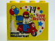 Part No: 30144pb187  Name: Brick 2 x 4 x 3 with Happy Birthday 14 Jahre Legoland Deutschland Resort Pattern