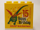 Part No: 30144pb203  Name: Brick 2 x 4 x 3 with Happy Birthday 15 Legoland Deutschland Resort Pattern