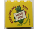 Part No: 30144pb205  Name: Brick 2 x 4 x 3 with HAVE FUN KEEP SMILING 2017 Legoland Deutschland Resort Pattern