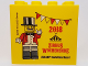 Part No: 30144pb223  Name: Brick 2 x 4 x 3 with 2018 Zirkus Wochenende Legoland Deutschland Resort Pattern