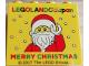 Part No: 30144pb225  Name: Brick 2 x 4 x 3 with Legoland Japan MERRY CHRISTMAS (Santa) Pattern