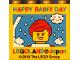 Part No: 30144pb245  Name: Brick 2 x 4 x 3 with Happy Rainy Day Girl Minifigure Legoland Japan Pattern