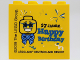 Part No: 30144pb272  Name: Brick 2 x 4 x 3 with 17 JAHRE Happy Birthday LEGOLAND DEUTSCHLAND RESORT Pattern