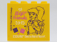 Part No: 30144pb273  Name: Brick 2 x 4 x 3 with LEGO friends 2019 LEGOLAND Deutschland Resort Pattern