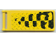 Part No: 30292pb004  Name: Flag 7 x 3 with Rod with Tire Tracks Pattern (Sticker) - Set 6617