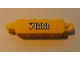 Part No: 30387pb003  Name: Hinge Brick 1 x 4 Locking, 9 Teeth with '7633' Pattern on Both Sides (Stickers) - Set 7633