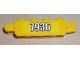Part No: 30387pb005  Name: Hinge Brick 1 x 4 Locking, 9 Teeth with '7936' Pattern on Both Sides (Stickers) - Set 7936