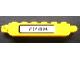 Part No: 30388pb001Lb  Name: Hinge Brick 1 x 6 Locking, 9 Teeth with Black '7248' on White Background Pattern Model Left Side (Sticker) - Set 7248