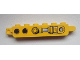 Part No: 30388pb008  Name: Hinge Brick 1 x 6 Locking, 9 Teeth with 2 Holes and Piston Pattern on Both Sides (Stickers) - Set 9486