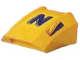 Part No: 30602pb009  Name: Slope, Curved 2 x 2 Lip, No Studs with Nesquik 'N' Pattern (Stickers)