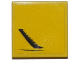 Part No: 3068bpb0957R  Name: Tile 2 x 2 with Groove with Chevrolet Corvette Side Air Vent Pattern Model Right Side (Sticker) - Set 75870