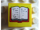Part No: 3068pb10  Name: Tile 2 x 2 with Book, Open Pattern (Sticker) - Set 230-1