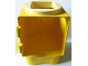 Part No: 31127cx4  Name: Primo Shape Sorter Chamber, Light Yellow Circle with Square Opening