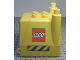 Part No: 31257c01  Name: Duplo, Vehicle Truck Construction Vehicle Back with Opening Hatch