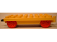 Part No: 31300c01  Name: Duplo, Train Base 4 x 8 with Movable Hook