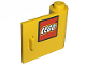 Part No: 3188pb002  Name: Door 1 x 3 x 2 Right with LEGO Logo with Black Border Pattern (Sticker) - Set 10156