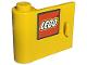Part No: 3189pb002  Name: Door 1 x 3 x 2 Left with LEGO Logo with Black Border Pattern (Sticker) - Set 10156
