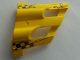 Part No: 32190pb07  Name: Technic, Panel Fairing # 1 Large Short, Large Holes, Side A with Checkered Flags and Number '1' Pattern (Stickers) - Set 8445